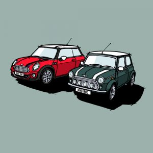classic mini and new mini commission
